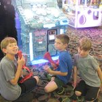 Lots of $$ & FUN in the GWL Arcade winning 1000 tickets!