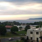 View of Little Traverse Bay from balcony (4th floor)