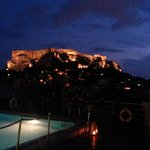 Acropolis from the pool deck