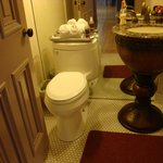 Powder Room in Lumber Baron