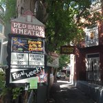 This way to the Red Barn Theater