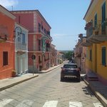 Very nice street in the center of Santa Teresa