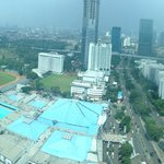 view from 31st floor