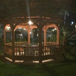 Cute little gazebo for reading or R&R