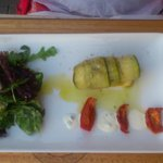 Cannelloni courgette saumon