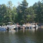 Boat Dock (includes boats for rent)