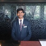 Monu at Front Desk