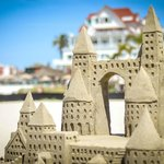 Sandcastle on Coronado Beach