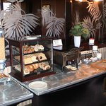 Roaring Start Breakfast - breads, pastries, toaster, and spreads