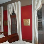 Drapes in room 1
