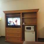 Television Console Unit - King Size Room Best Western Hot Springs, South Dakota