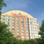 Front of the Marriott