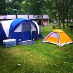Our campsite June 23, 2014