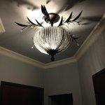 nice chandelier in room