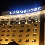 Commodore Hotel.