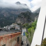 Walking Down to the Town of Positano