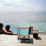 Our honeymoon, Ocean View over water bungalow, Hufaven Fushi