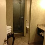 Bathroom in hotel room