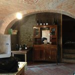 Our living area at La Giolitta