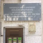 Winterfeldt Berlin Apartments resmi