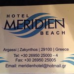 Photo de Meridien Beach Hotel