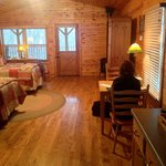 Foto van Kickapoo Valley Ranch Guest Cabins