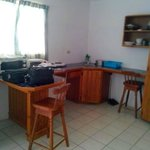 Kitchenette area of Room 2