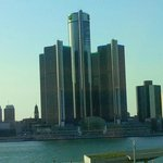 Detroit view across the river