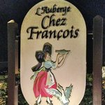 The sign of Chez Francois.