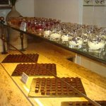Dessert night - housemade chocolates