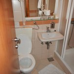 Bathroom is very very small - approximately 3m2