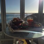 Beautiful breaky in the Lighthouse