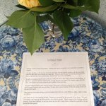 Welcome letter in room