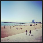 ภาพถ่ายของ Bed and Beach Barcelona Guesthouse