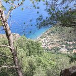 The view from the path down to Port de Valldemossa