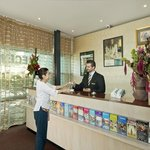 9. friendly _ helpfull receptionist
