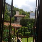 The view from a classroom window at ASLI Cuernavaca