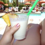 Pina Colada by the Pool!