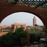Riad Catalina, roof top terrace.