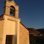 Lovely little chapel above the villas
