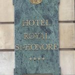 Hotel Royal Saint-Honore Foto