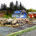 Photo de Harbourville Cottages and Schnitzelhaus