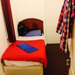 Beware this is the single room, perfect if your a circus dwarf bed held together with bogies and