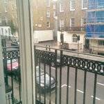 View from the room to Gloucester Place