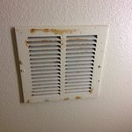 The bathroom vent.