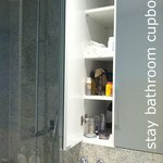 STAY bathroom cupboard (limited shelving & storage)
