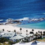 Looking down on Camps Bay Beach