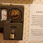 Electricity meter at the Windsor suite