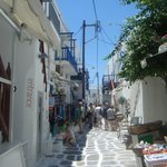 Mykonos town , easy to get lost,  lol