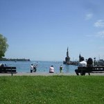 Bodensee, parco in zona Konzil (vicino all'hotel)